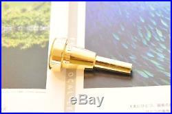 Monette BP1-1L DS Piccolo Trumpet Mouthpiece Gold Plated (Cornet Shank)