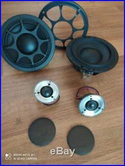 Morel Supremo Piccolo & Morel Elate MW6 High End Components Speakers 2-way Activ