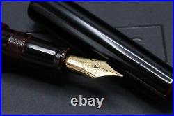Nakaya Urushi Cigar Piccolo Aka-Tamenuri Fountain Pen
