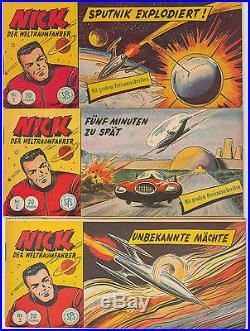 Nick der Weltraumfahrer Nr. 1 139 SERIE komplett LEHNING Piccolo ORIGINALHEFTE