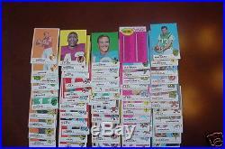 Over 250 1969 Topps Football Card Lot Namath Piccolo Error Starr 1960's Baseball