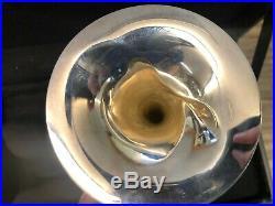 O'Malley Piccolo Trumpet (3+1) Bell Damage