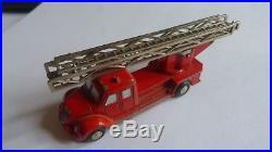 Orig Schuco Piccolo Magirus Rot Feuerwehrauto PDG #9639K