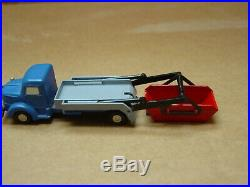 Original 1960's Western Germany Schuco Piccolo #767 Depositing Container Truck