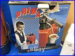 PROFFESSIONAL ITALY piccolo prima espresso coffee pod machine A29696 BASSANO