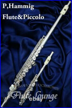 P. Hammig Flute Piccolo Used Hammich Specialty Store Lounge