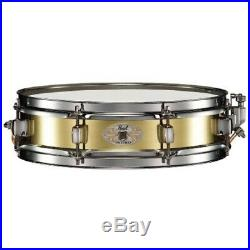 Pearl 13x3 Brass Piccolo Snare Drum + Protection Racket Case