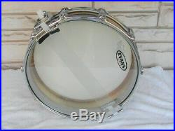 Pearl 14x3.5 Brass Free-Floating Piccolo Snare Drum. VG