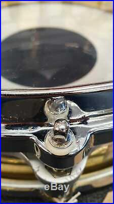 Pearl 14x3.5 Free Floating Brass Piccolo Snare Drum