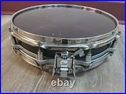 Pearl 3.5x14 Free Floating Steel Snare Drum. EXCELLENT CONDITION! Piccolo