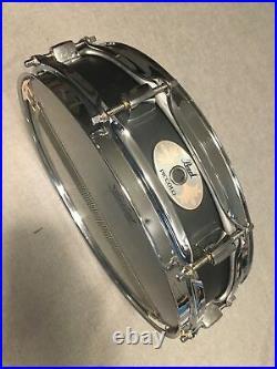 Pearl 3 X 13 Black Steel Piccolo Snare Drum