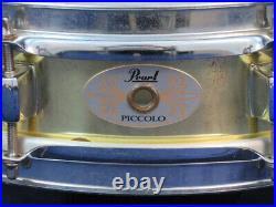 Pearl 3 x 13 Piccolo Snare Drum Ser#11365 Brass Shell Good Condition