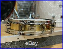 Pearl Brass Shell Piccolo Snare 13 #357