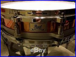 Pearl Copper Free-Floating Piccolo Snare Drum