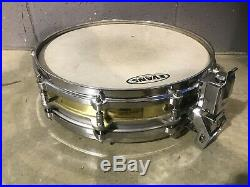 Pearl Free Floating System Brass Shell Piccolo Snare Drum 14x3.5 10 Lug #SN112