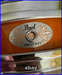 Pearl M1330102 13 x 3 Inches Finish Maple Piccolo Snare Drum Snappy Sound