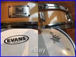 Pearl Maple Piccolo Snare Drum 12 x 4 Puresound Blasters Good Heads