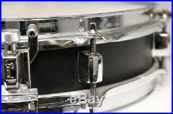 Pearl Piccolo 13x3 Snare Drum Black