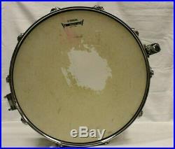 Percussion Plus CB700 Brass 3.5 x 13 Inches Piccolo Snare Drum W Hard Case