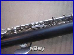 Philipp Hammig Piccolo Flute Silver keys