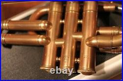 Piccolo Corton Trumpet Bb with case, Mouthpiece