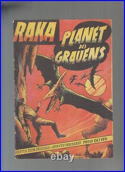 Piccolo Sonderband 13 Raka Planet des Grauens Original W. Lehning Verlag