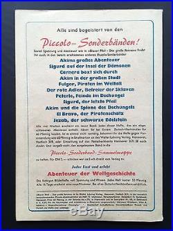 Piccolo Sonderband Nr. 12 Blauer Pfeil Original Top Zustand Lehning Z1-2