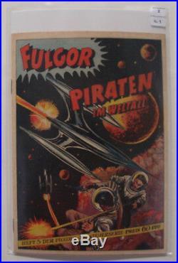 Piccolo Sonderband Nr. 5, Fulgor Piraten im Weltall (Lehning, Gb) Zustand 2