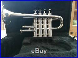 Piccolo Trompete Eterna by Getzen versilbert