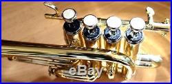Piccolo-Trompete b/a YAMATO bb/a Piccolo Trumpet + Koffer, Mundstück