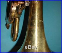 Piccolotrompete Trompete Drehventilen Trumpet with Rotary Valves