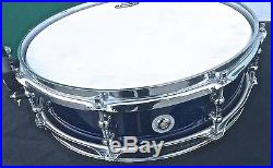 Premier Modern Classic Piccolo Midnight Blue Sparkle Snare Drum 14 x 4