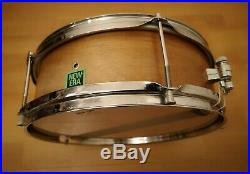 Premier New Era 12 X 4 Vintage Piccolo Snare Drum in Natural Mahogany Finish