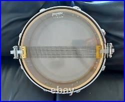 Premier caja piccolo de latón 14x4 vintage ref. 2014 (Brass snare drum)