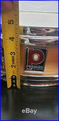 RARE Premier Piccolo Snare Drum nice shape