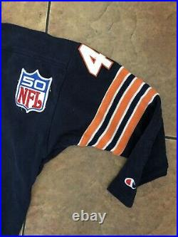 RARE VINTAGE CHICAGO BEARS BRIAN PICCOLO #41 CHAMPION JERSEY(50Patch), XL