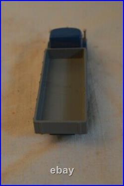 RARE VINTAGE SCHUCO PICCOLO 746 KRUPP TIGER 185 PS LASTWAGEN TRUCK BLUE WithBOX