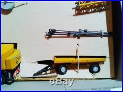 RARE vintage #801 SCHUCO PICCOLO 190 COLES LKW-KRAN MIB OVP