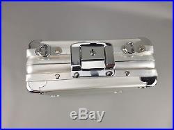 RIMOWA Lufthansa Edition Mini Case Handtasche Minikoffer Piccolo Aluminium