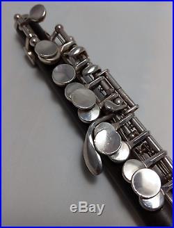 ROY SEAMAN LTD 5964 Professional Piccolo gemeinhardt grenadilla silver keys