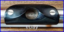 Rare Cigar Uebel Professional Piccolo Flute Aluminum Body c. 1960