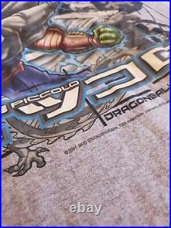 Rare Dragon Ball Z Piccolo Vintage T-Shirt Adult XXL