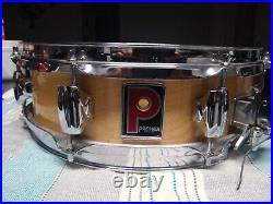 Rare Premier 13x 4 8-Lug Birch Piccolo Snare Drum 1990's. NICE and CLEAN