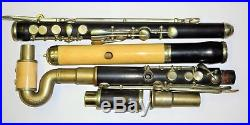 Rare Wünnenberg / Dual-Use German closed hole Flute