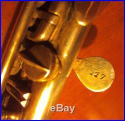 Rare et ancienne Flûte PICCOLO en métal L. ROTINAT à BOURGES Antique old FLUTE