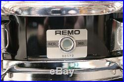 Remo 3.5x13 Mastertouch Piccolo Snare Drum Black