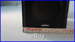 Revox Piccolo MK II Lautsprecher Speaker Boxen 35/50Watt 4 Ohm Schwarz 2 Weg