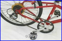 Riley Piccolo Pull Along Bike 44cm 24 8SPD Kids Tandem Co-pilot Steel Charity