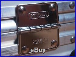 Rimowa PICCOLO BEAUTY CASE Aluminium DISCONTINUED made in Germany