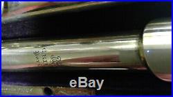 Rive-Robert cased flute & piccolo
